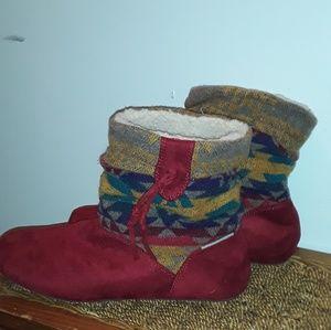 BearPaws warm booties.